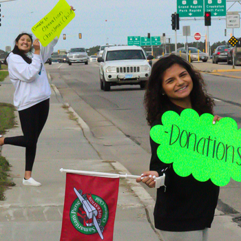 Oak Hills Students Host Drive for Operation Christmas Child