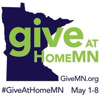 GiveAtHomeMN  May 1st – 8th